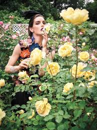 Beauty Garde Hilary Rhoda Transforms In Avant Garde Looks For Vogue Arabia