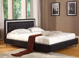 Black Platform Bed Bling Black Platform Bed Andrew S Furniture And Mattress