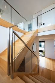 Switch Back Stairs by Stairs Victorian Ash Stained Glass Balustrade Stainless