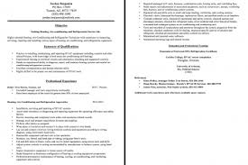 Hvac Technician Resume Sample by Hvac Installer Resume Sample Reentrycorps
