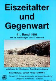 B Otisch Schmal Quaternary Science Journal Vol 26 No 1 By Geozon Science Media
