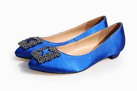 Wedding Shoes Blue Flat Blue Wedding Shoes With Crystals Ipunya