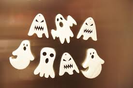 how to make scary glow in the dark ghost fridge magnets for