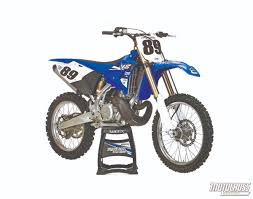 yamaha motocross bikes motocross action magazine 2015 mxa 250 two stroke shootout tc250