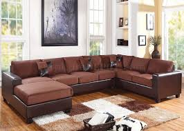reversible sectional sofas 56000 dannis reversible sectional sofa in chocolate by acme