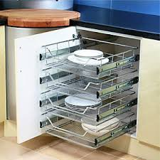 kitchen cupboard interior fittings kitchen basket storage