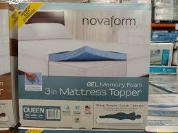 novaform 3 inch mattress topper natural latex mattress