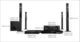 d home theater system 5 1 3d blu ray home theater htb5580 40 philips