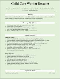 Resume Examples Usa by Daycare Resume Samples It Resume Cover Letter Sample
