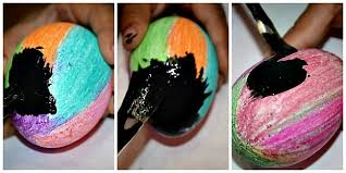 Decorating Easter Eggs With Nail Polish by Easter Egg Ideas Scratch And Glitter Eggs Kids Play Box