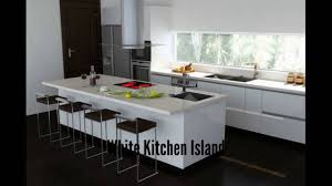 white kitchen island rolling kitchen island youtube