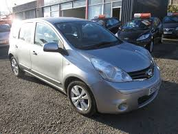 nissan note used silver nissan note for sale torfaen