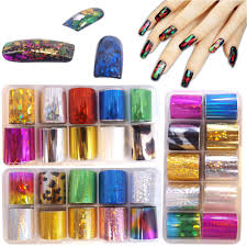 online get cheap foil acrylic nails aliexpress com alibaba group