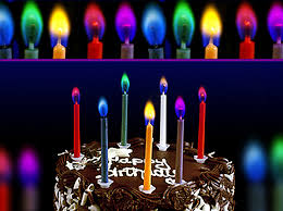 birthday cake candles magic multi coloured birthday cake candles
