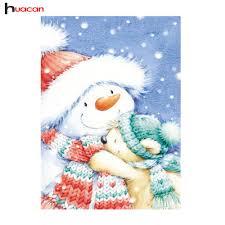 online get cheap winter christmas paintings aliexpress com