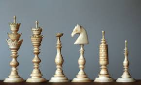 chess set designs the standardization of chess set design