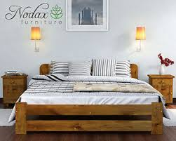 nodax new wooden 100 pine 6ft super king size bed frame