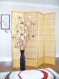 slatted room divider mastsu shoji screen room dividers folding screen