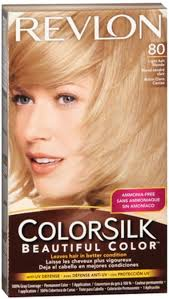 revlon colorsilk hair color 80 light ash blonde 1 each pack of 3