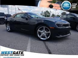 2015 convertible camaro pre owned 2015 chevrolet camaro ss 2d convertible in plainfield