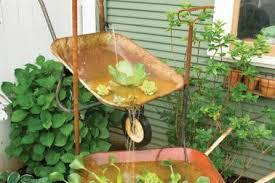 Rustic Garden Decor Ideas 32 Rustic Garden Decor Fountain Rustic Trough 19