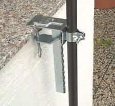 sonnenschirm fã r den balkon wand brüstungshalter ebay