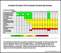 Production Schedule Template Excel Free Production Schedule Template Templatezet