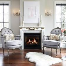 french fireplace chairs design ideas