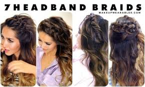 braided hair headband headband braid tutorial for hair foto