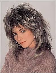 long shaggy hairstyles older women side swept bangs are youthful and natural for older women cute
