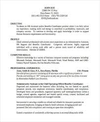 Office Administration Resume Samples by 25 Basic Administration Resumes Free U0026 Premium Templates