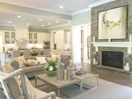 Model Home Living Room by Ladera Weddington Waxhaw Homes