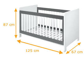 Size Of A Crib Mattress Toddler Bed Crib Mattress Same Size Average Baby Dimensions Cot