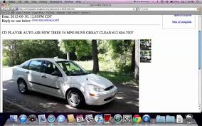 2001 ford focus craigslist craigslist st paul mn used cars for sale by owner 5000 in