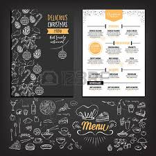 8 260 christmas menu stock vector illustration and royalty free