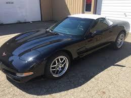1998 corvette black black chevrolet corvette in michigan for sale used cars on