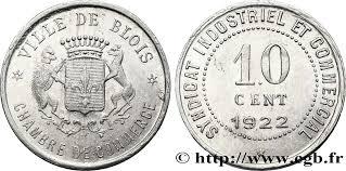 chambre du commerce blois chambre de commerce ville de blois 10 centimes blois fnc 338121