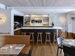 modern hospitality interior design of a kitchen restaurant