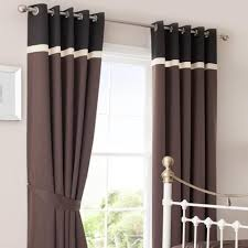 Grey Faux Suede Curtains Magnificent Chocolate Curtains Eyelet Ideas With Chocolate Faux