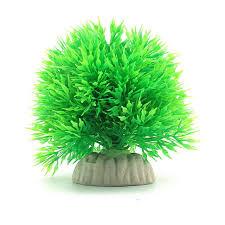 pretty plastic grass fish tank tree ornaments aquatic simulation