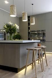 lustre de cuisine théière en acier inoxydable lustre élégant à cinq bras comptoir de