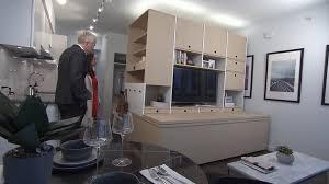 ori furniture cost robotic furniture turns tiny spaces into multiple rooms ctv