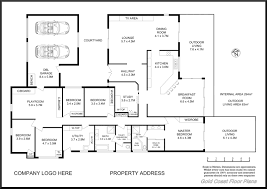 house plan one level house plans with others b u0026w single level home