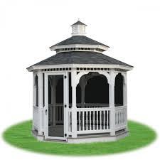 Gazebo Screen House Kit by Gazebos Pergolas U0026 Pavilions Pine Creek Structures
