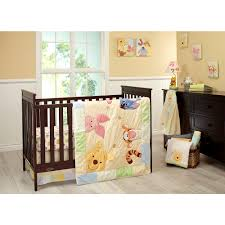 Baby Crib Bumper Sets by Baby Crib Bedding Sets With Theme Winnie The Pooh Nursery