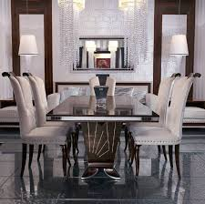 Luxury Dining - luxury dining room sets luxurious gorgeous table and chairs 14
