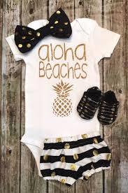 best 25 summer baby ideas on pinterest summer baby photos baby baby girl onesie aloha beaches onesie girls shirt by bellapiccoli