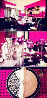 best 25 pink decor ideas on pink centerpieces