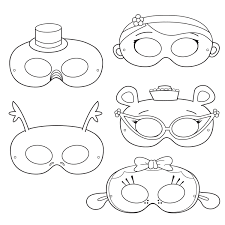 doctor printable coloring masks doctor masks printable