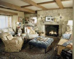 Country Family Room Ideas - French country family room
